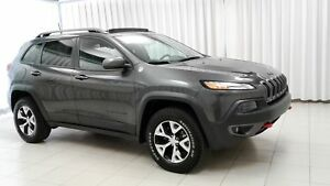 2016 Jeep Cherokee WOW! WHAT MORE DO YOU NEED!? TRAIL HAWK 4x4 S