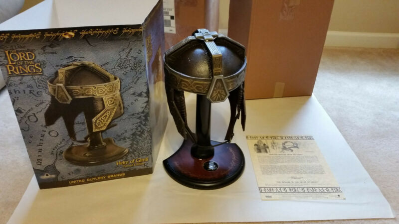 UC1384 Limited Edition Helm of Gimli LOTR Lord of the Rings