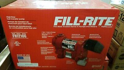 Fill-rite Fr1210g Fuel Transfer Pump 15 Gpm 12vdc