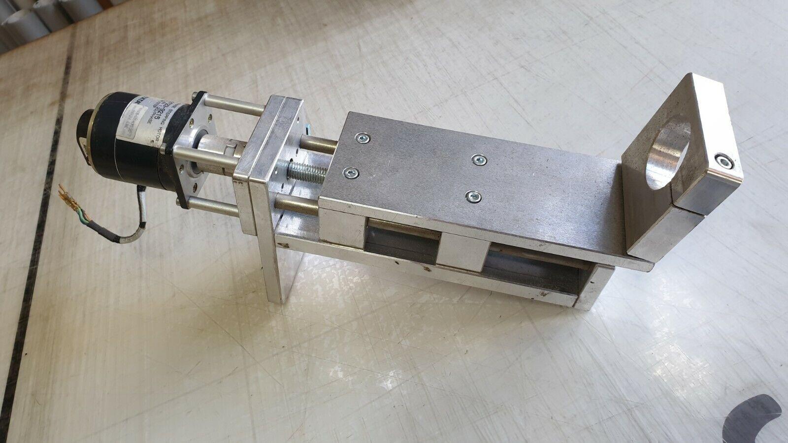 CNC Z Achse für CNC Fräse Portalfräse Weg ca 90mm incl Endschalter & Halter