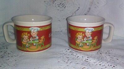 Campbell's Tea Party Soup Mug 1998 Houston Harvest Red Kids (Kids Party Houston)