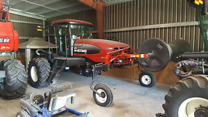 2008 M150 swather with 35 ft header, optional 40 ft header avail