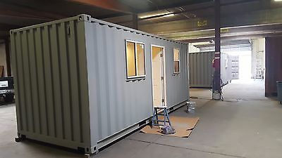 20 Ft Bunk-house -160 Sqft Ready For Fema Or  By Universal Container Homes
