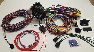 Universal Gearhead 1964 1965 1966 Ford Mustang Fairlane Wiring Harness Wire Kit