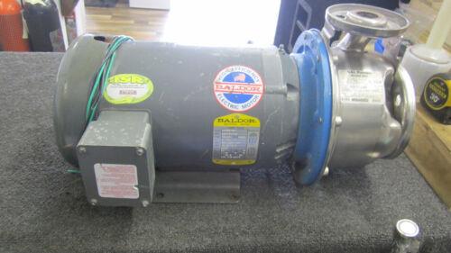 Baldor 3 Phase 5 Horse Motor with G&L SSH Pump