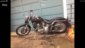 '87 softail custom trade for truck