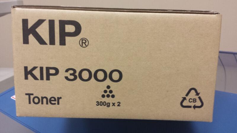 KIP 3000 Toner Genuine OEM Black 2 cartridges per box