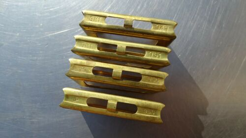 CARCANO CLIPPS for 6x 6.5 x52 *4x orig. ITALIAN  made in BRASS * very nice cond