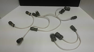Various Military Cables 18 Point Connector