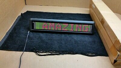 New Lot Of 3 Pro-lite Programmable Electronic Led Display Sign Pl-m2010r 1774