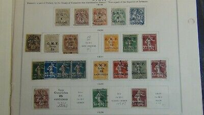Syria #2 stamp collection on Scott Int'l pages to '40 w/est #109 stamps