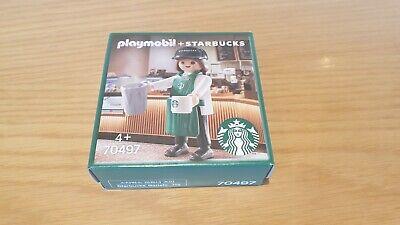 Starbucks Playmobil Buddy set 70497 Barista!!! New!!!!