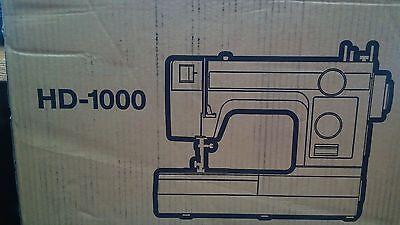Швейная машина Janome HD1000 Heavy Duty
