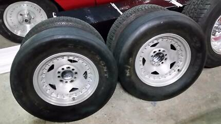 chev ford pattern centerline convo pro 15x4x2 M/T ET tyres Tallebudgera Valley Gold Coast South Preview