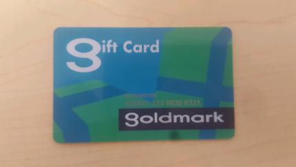 Goldmark    $150 gift card