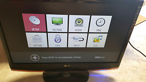 LG 23 inch LCD Monitor TV Jacana Hume Area Preview
