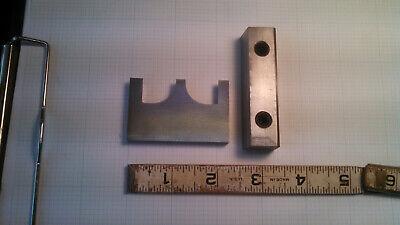 Woodmaster 2-up Shoe Moulding Knife And Gib 12x34