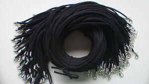 Wholesale Black 10 Pcs String Suede Leather Strip 20