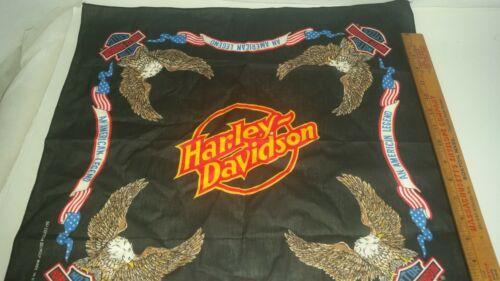 An American Legend USA Vtg 90s Harley Davidson Bandana  Eagle