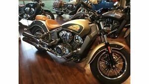 2018 Indian Motorcycles Scout ABS ICON SERIES DIRT TRACK SMOKE T