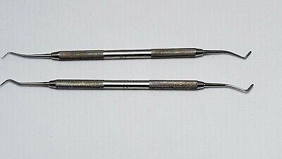 Hu-friedy Dental Metal Plastic Instrument Pf 18a - Lot Of 2
