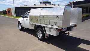 Mitsubishi triton glx tool box ute Bundoora Banyule Area Preview