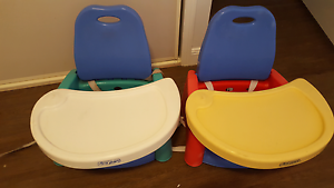 Portable Feeding Booster Seats x2 Capalaba West Brisbane South East Preview
