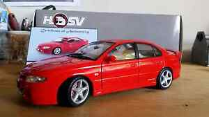 1.18 scale autoart hsv vt series 2 clubsport r8 in sting red Ferntree Gully Knox Area Preview