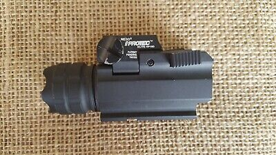 NEBO 190 Lumen Tactical Light with laser  ·