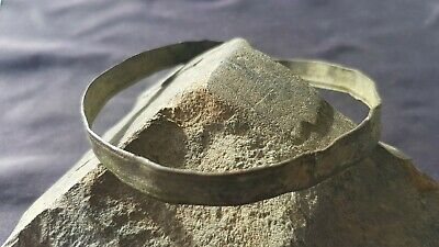 Ultra rare Viking warriors copper alloy bracelet. A must read description. L92w