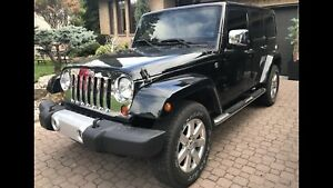 2012 Jeep Wrangler Unlimited, 3.6L , Leather, Navi, Camera++