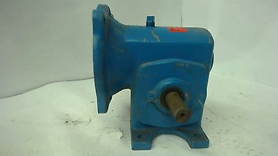 Morse E87hj4477 Left Right Angle Gearbox Quill Input 56 Frame Ratio 401 .35 Hp