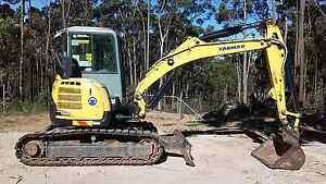 Yanmar ViO55-5B - Dec 2012 model Picton Wollondilly Area Preview