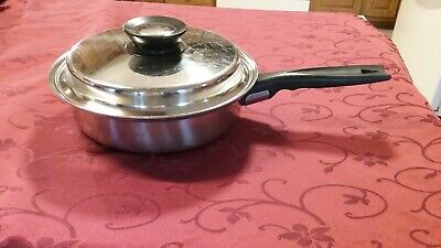 Vintage Queens Choice Vollrath Gourmet Stainless Steel 1 1/2 Qt Sauce Pan