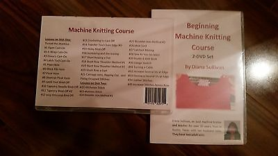 Machine Knitting Beginner Course by Diana Sullivan