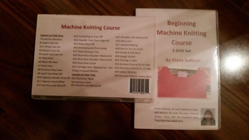 Machine Knitting Beginner Course by Diana Sullivan