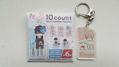 Ten Count, Rihito Takarai, Schlüsselanhänger aus Acryl, Tadaomi Shirotani 3/6