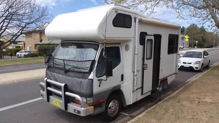 For Sale - Mitsubishi Canter motorhome 1996