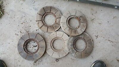 Case 730 830 930 1030 Diesel Tractor Brake Disc Lot