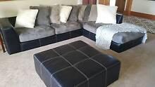 Harvey Norman Lounge, Ottoman and round swivel chair Burnie-Devonport Region Preview