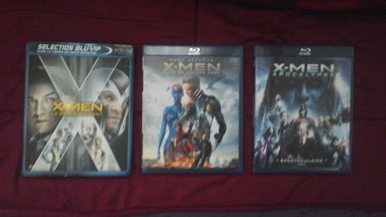 Prélogie X-MEN en Blu-Ray