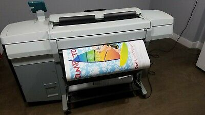 Canonoce Colorwave 300 Largeformat Color Plotter Scanner Copy Blueprint Printer