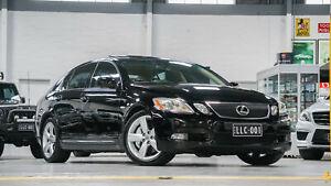 2005 Lexus GS430 UZS190R Sport Luxury Black 6 Speed Auto Sequential Sedan Port Melbourne Port Phillip Preview