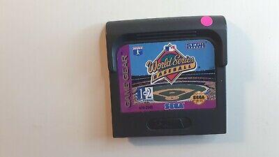 World Series Baseball (Sega Game Gear, 1993) FAST FREE SHIPPING !!