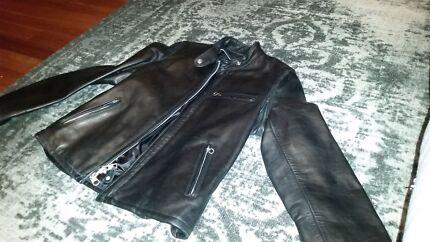 Black Schott Women's Leather Jacket  Newcastle 2300 Newcastle Area Preview