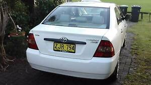 2004 Toyota Corolla Sedan 123000 Mullumbimby Byron Area Preview