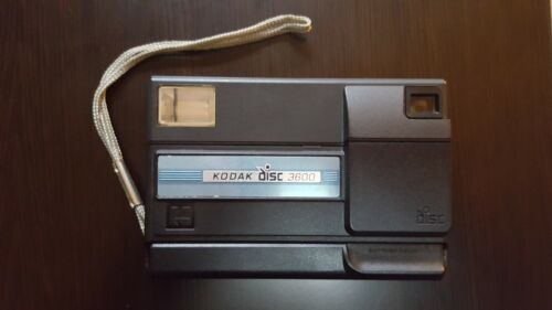 Vintage *Economy Collectible Kodak Disc 3600 Camera Made in U.S.A