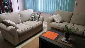 Sofa lounge set (3 seat + 2 seat) Bossley Park Fairfield Area Preview