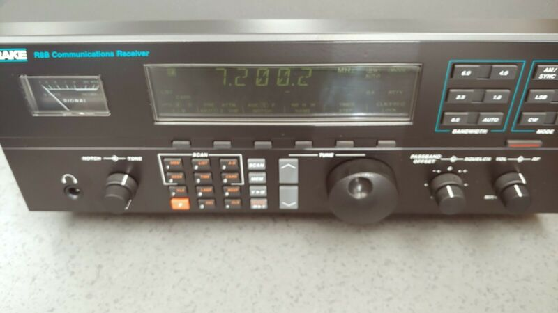 Drake R8B AM SW Receiver W/ VHF conversion FACTORY INSTALLED. RARE FIND!