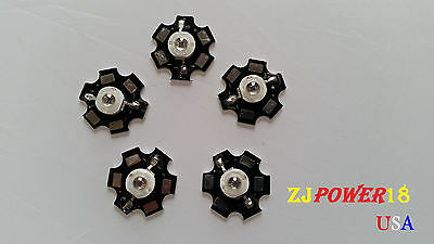 5pcs 3w 850nm Infrared Ir Led With 20mm Star Bead 1.6v - 2.0v 700ma --visible
